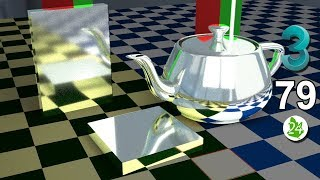 Создание материала металла 3ds max. ✦ Зеркало. Physical Material. ART render. Курс. Урок 79