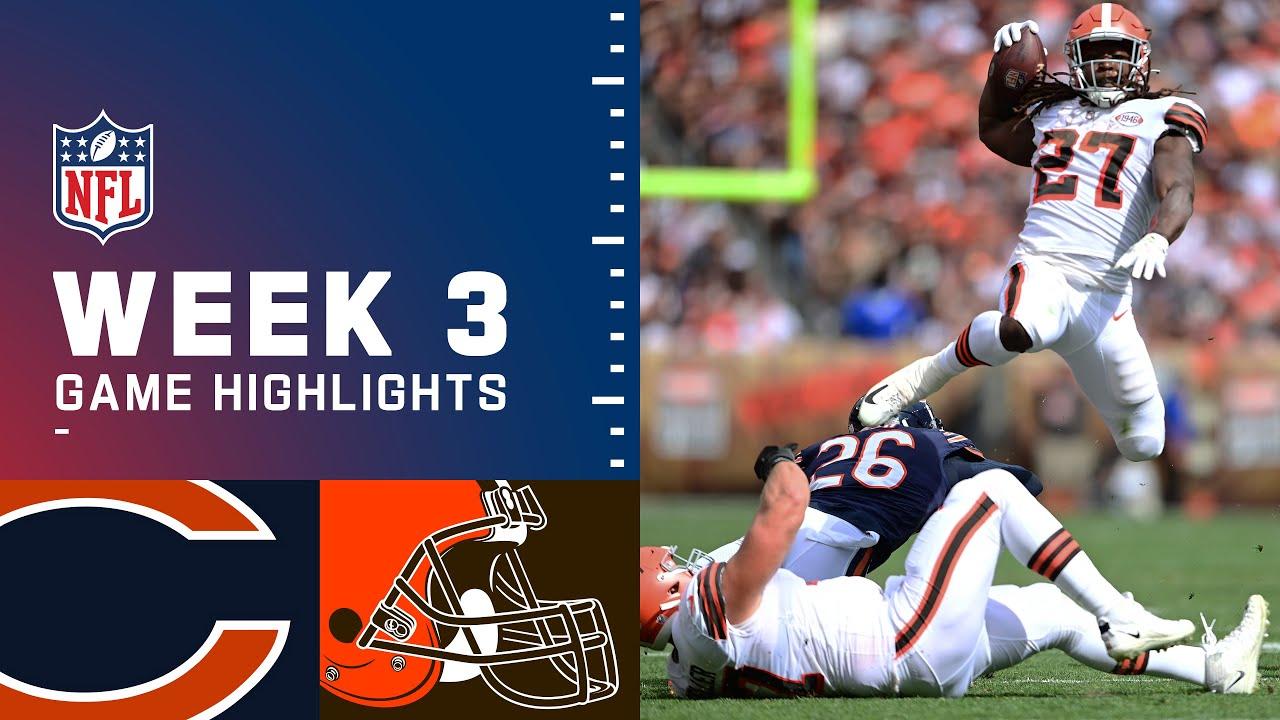 Download Bears vs. Browns Week 3 Highlights | NFL 2021