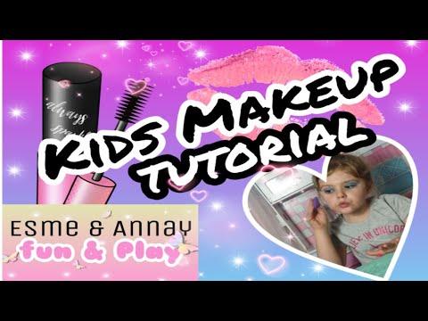 KIDS MAKEUP TUTORIAL | Esmes step by step guide