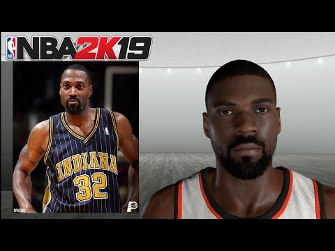 NBA 2K19 - How To Create 16 Missing Retro Players - Featuring Dale Davis, Johnny Dawkins Etc