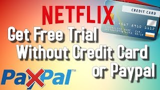 Netflix Account Without Credit Card or Debit Card or Paypal [2018]