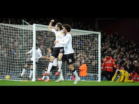 west ham 1 manchester united 1 goals  Kouyate Blind