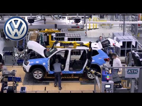 Volkswagen Atlas Production in Chattanooga, Tennessee, USA