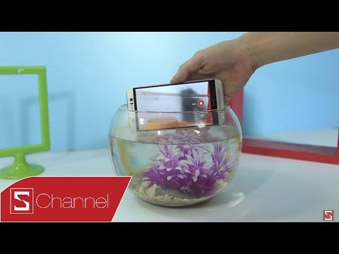 Schannel - HTC One M9 chiu được trong môi trường nước bao lâu ?