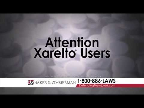 http://www.bakerzimmerman.com/xarelto http://xareltolitigator.com/  If you or a loved one has suffed from Internal Bleeding, Intracranial Bleeding, Stroke, or Death, Contact a Xarelto Lawyer Now For a Free Consultation at (800)515-4147  If you or someone...