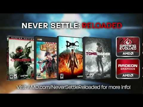 Trailer: The Games of the AMD Never Settle Reloaded Bundle
