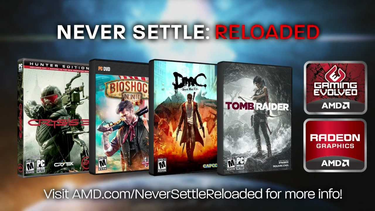 Amd never settle free games coupon