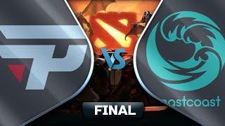 [PT-BR] paiN Gaming vs Beastcoast  - Final Dota 2 Major SA