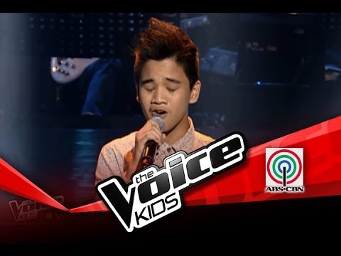 """The Voice Kids Philippines Blind Audition """"What Makes You Beautiful"""" by Lorenzo"""