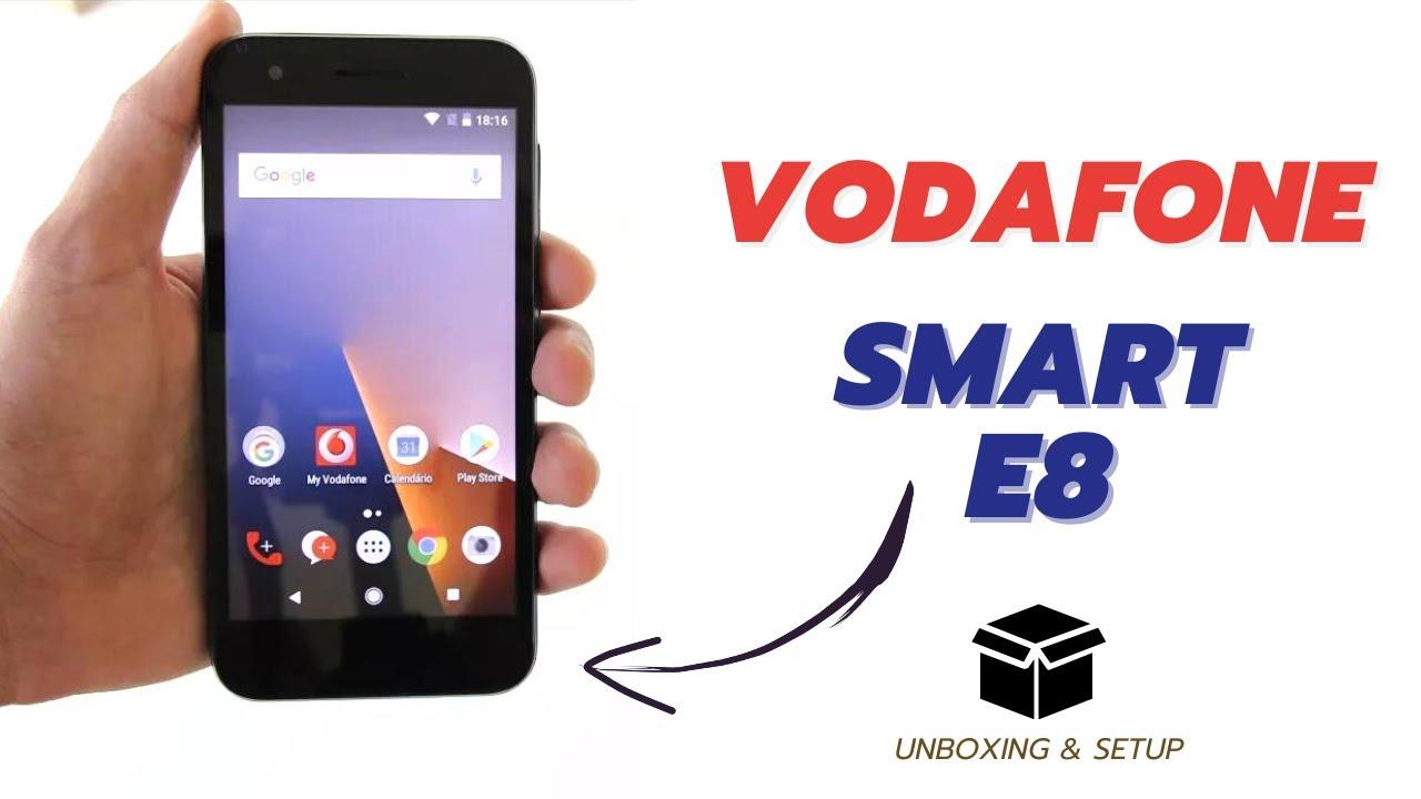 Vodafone Smart E8 - Unboxing