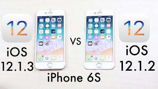 (iPhone 6S) iOS 12.1.3 Vs iOS 12.1.2! (Comparison)