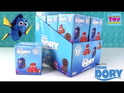 Finding Dory Disney Pixar Funko Mystery Minis Full Case Blind Bag Unboxing Toy Review | PSToyReviews