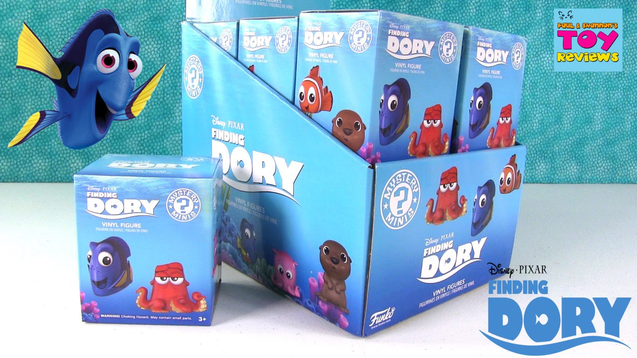 finding dory disney pixar funko mystery minis full case doovi. Black Bedroom Furniture Sets. Home Design Ideas