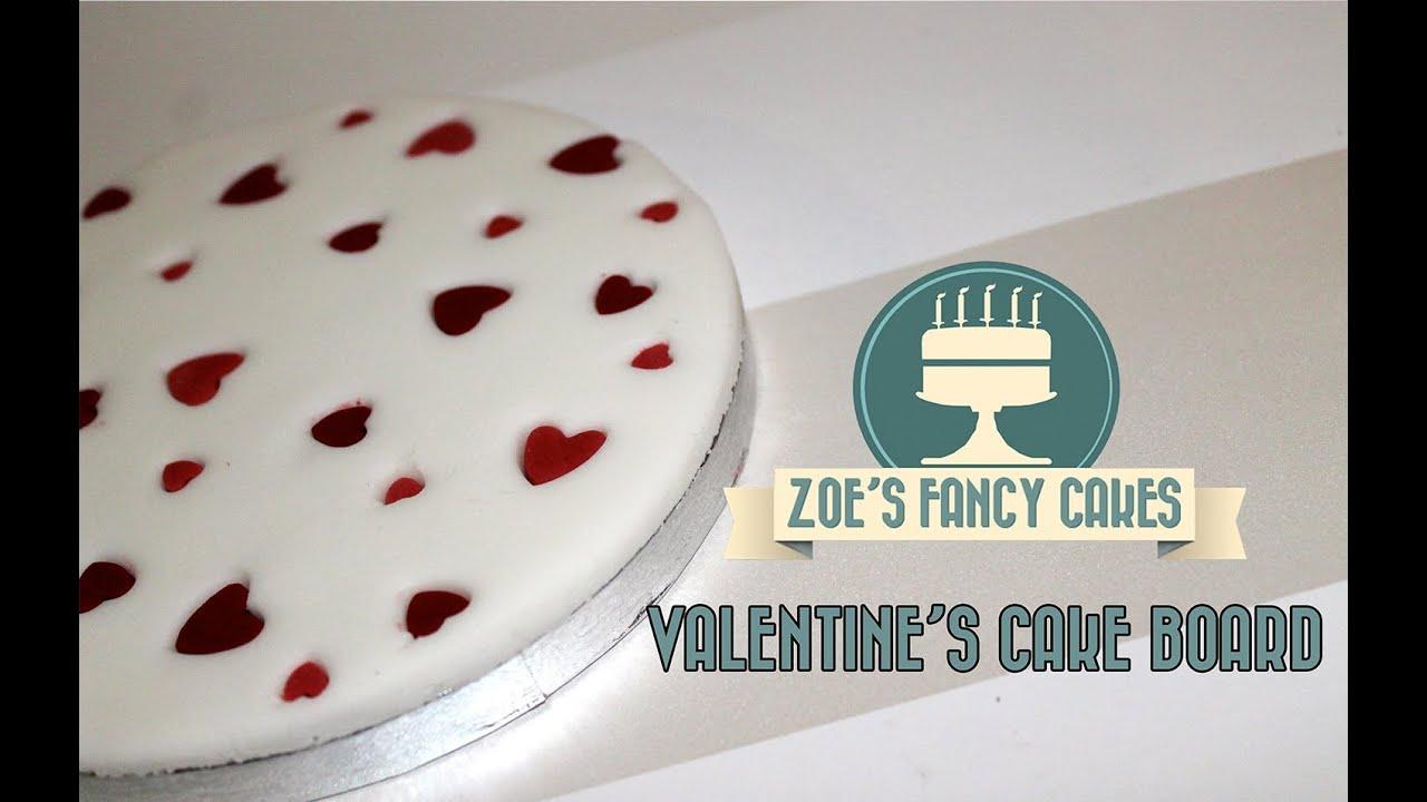 How To Make A Valentine Heart Cake