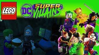 Lego DC Super Villains Mr Freeze Unlocked! Arkham Free Roam