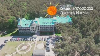 De Luxe - Apartamenty Blue Mare - Łukęcin (z drona)