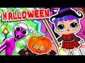 LOL DOLL GO SHOPPING For HALLOWEEN COSTUME DAME TU COSITA LOL Surprise Kids Cartoon For Kid mp3