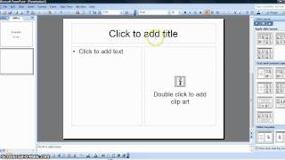 How to Create a Simple Student PowerPoint Presentation