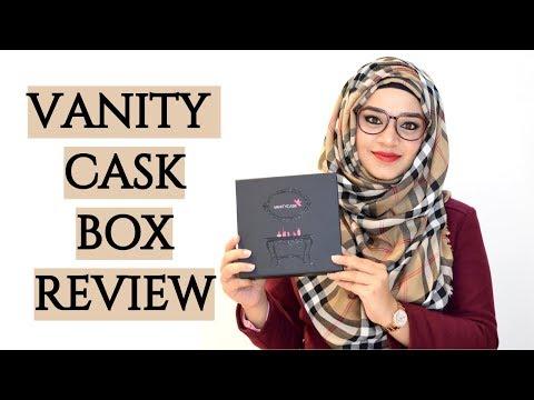 February Vanity Cask Box 2018  | Ramsha Sultan