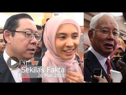 Dewan hangat...Najib, Guan