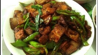 Chinese Sichuan Twice Cooked Pork Belly (China-Memo.com)