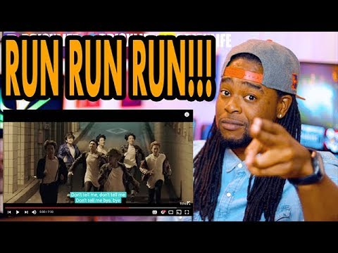 BTS | Run | THAT PILLOW FIGHT THO LMAO | REACTION!!! | MV