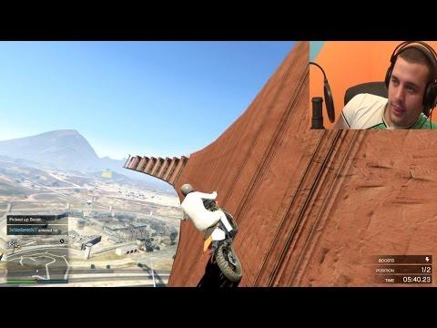 SA MOTORIMA WALLRIDE I PARKOUR! GTA V TRKE ONLINE