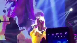 Daneliya Tuleshova - Stone cold / performance on MONATIK concert in Astana / 7.04.2018