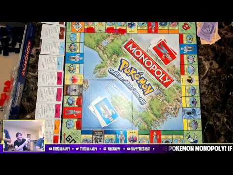 Pokémon Monopoly w/ TheKingNappy, GameboyLuke & Twit! [FULL GAME]