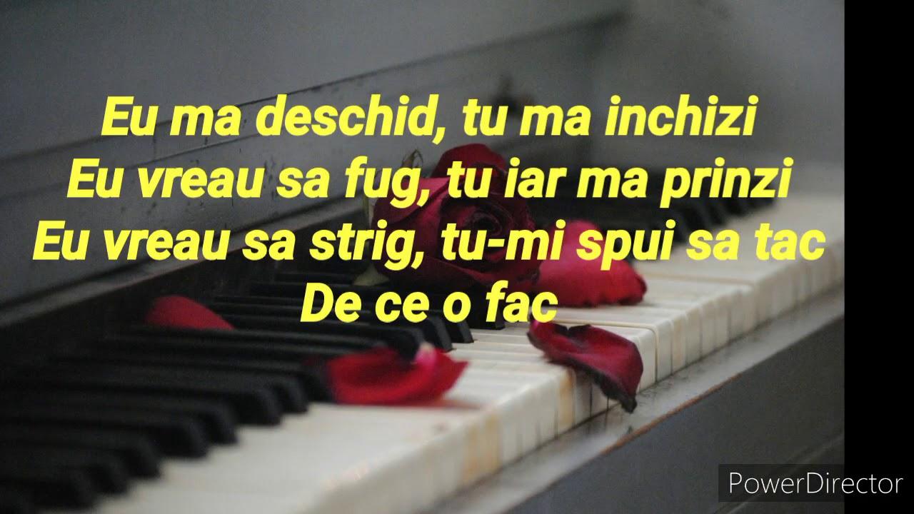 Nu Stii Tu Sa Fii Barbat - Irina Rimes! (Piano Karaoke)