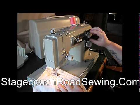 Kenmore 4040 Sewing Machine Demo Video YouTube Best Kenmore Sewing Machine Model 15108