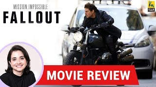 Anupama Chopra's Movie Review of Mission: Impossible - Fallout | Christopher McQuarrie | Tom Cruise