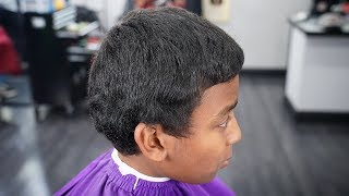 Cleanest Kids Haircut TRANSFORMATION!!!