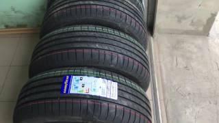 Новые шины на лето Good Year 215 55 r16