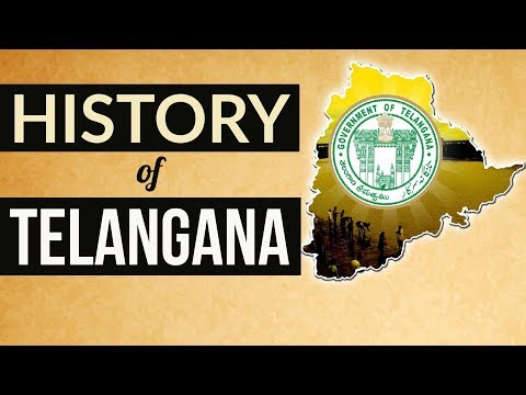 History of Telangana in English - Movement and State Formation 1724 - 2014 TSPSC APPSC AEE Group 1,2