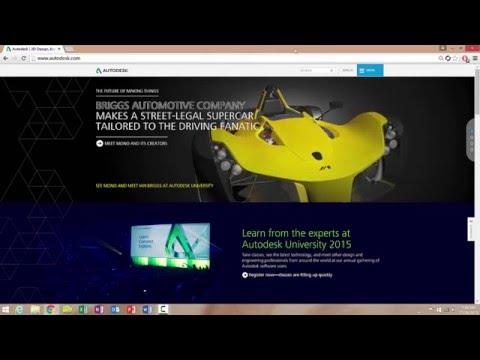 Free Download Autodesk Maya, AutoCAD, Inventor, Revit 2016