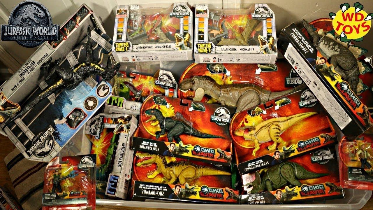 Hunting Jurassic World Dino S Fallen Kingdom Mattel