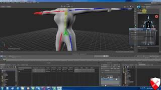 Урок-65 Риггинг в Motionbuilder