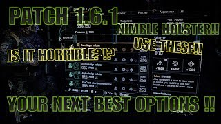 The Division 1.6.1 BEST HOLSTERS TO USE NOW INSTEAD OF NIMBLE!!