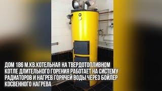 видео Буран 50У ГВС NEW - котел универсальный твердотопливный на дровах угле