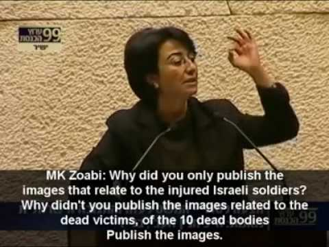 TRANSLATED   Knesset Members Attack Haneen Zoabi After Free Gaza
