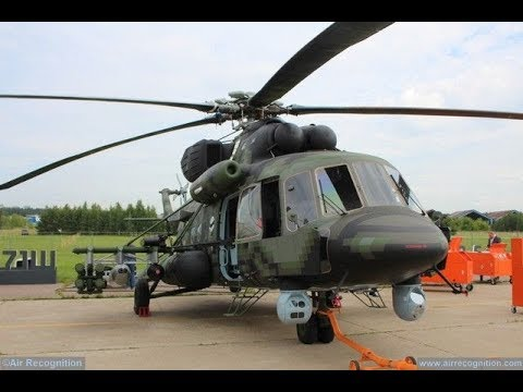 New Russian helicopter gunship Mi-171Sh-VN BEST practice from Syria