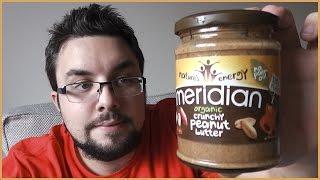 Meridian Organic Crunchy Peanut Butter Review