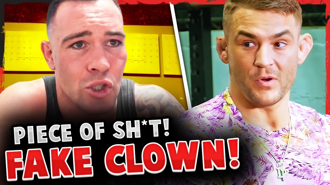 Colby Covington GOES OFF on Dustin Poirier & ACCUSES him of USING charity for TAXES, Conor McGregor