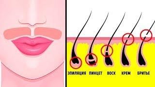 видео Как избавиться от волос на лице навсегда у женщин в домашних условиях