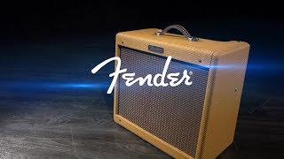 Fender Blues Junior LTD Combo, Lacquered Tweed | Gear4music demo