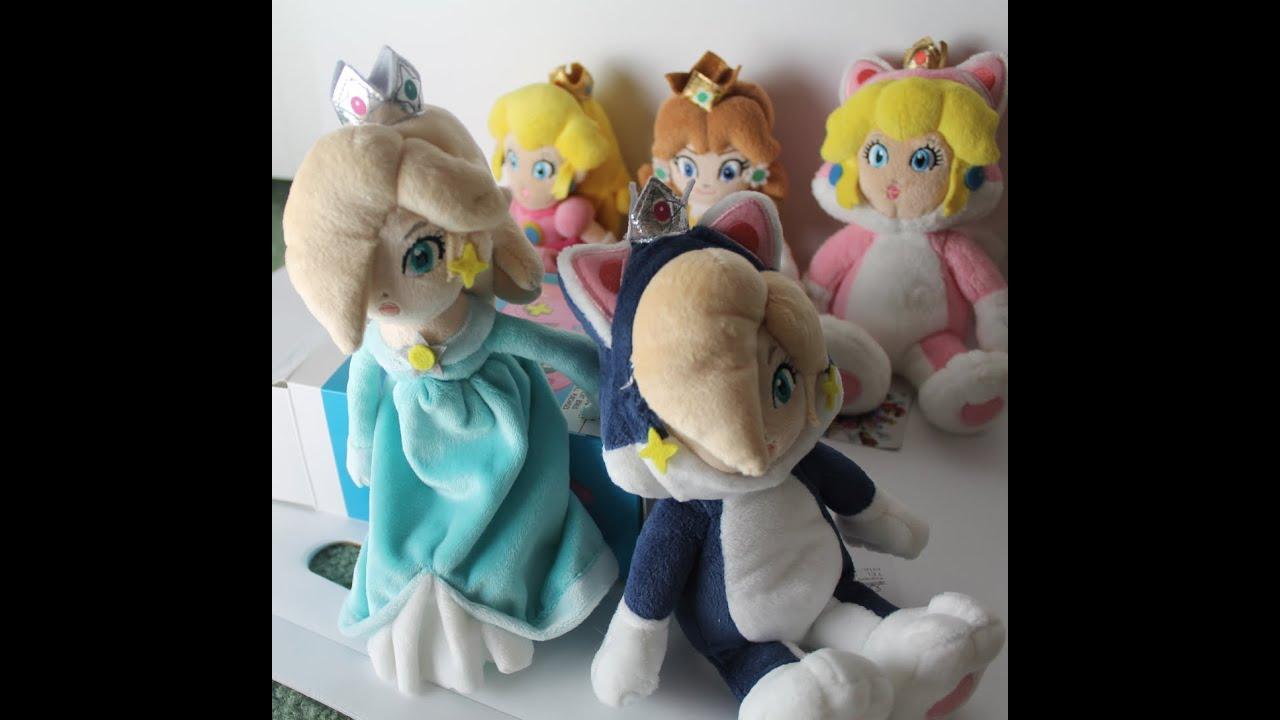 Rosalina And Cat Rosalina Plush Toys Youtube