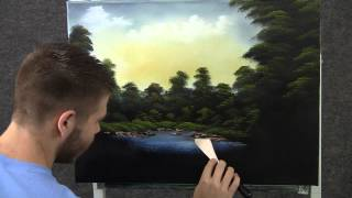 Paint with Kevin Hill - Secret Fishing Hole wet on wet