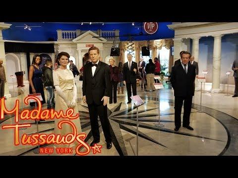 We Met Celebrities - Madame Tussauds Wax Museum New York