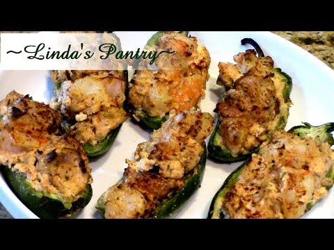 ~Cajun Shrimp Poppers On The Island Grill Stone With Linda's Pantry~